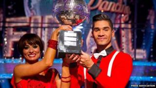 Gymnast Louis Smith wins Strictly Come Dancing