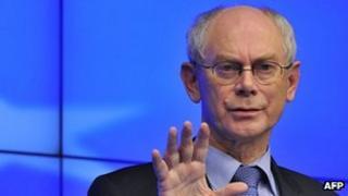President of the European Council Herman Van Rompuy