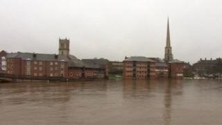 River Severn in Worcester