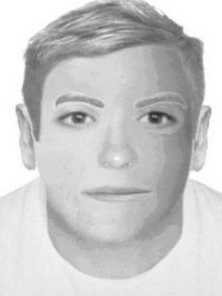 E-fit image of second suspect