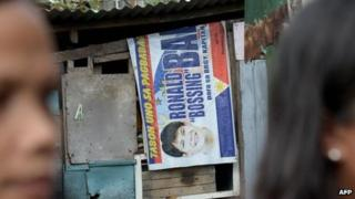 Poster for Ronald Bae in Kawit, Philippines