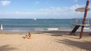 Beach in Ibiza