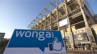 Wonga and St James' Park