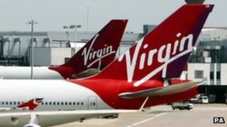 Virgin Atlantic planes