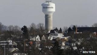 View of Steubenville, Ohio