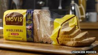 Loaf of Hovis bread