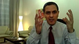 Richard Chichakli, pictured in 2010 in a YouTube video