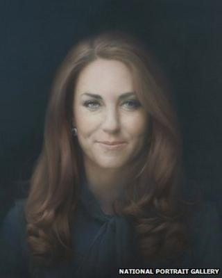 Portrait of the Duchess of Cambridge smiling