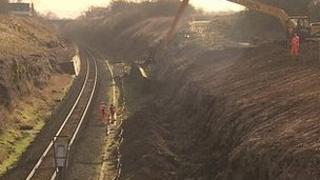 Work to redouble the Kemble to Swindon railway line has begun