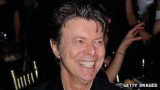 David Bowie, pictured in 2011