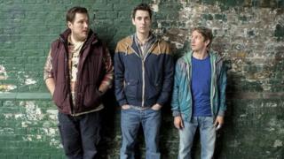 Marc Wootton, Blake Harrison, Ben Heathcote