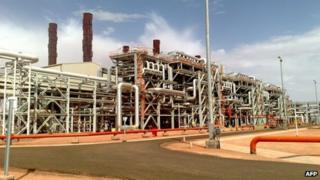 File pic of In Amenas gas facility