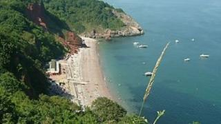 Oddicombe Beach, Torbay