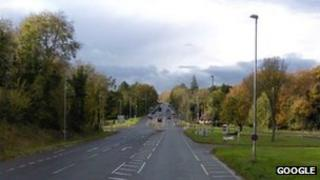 The A36 near to the Brickworth Corner junction