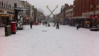 Northampton town centre