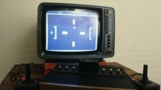 Atari computer from 1982