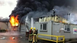 Maydown fire