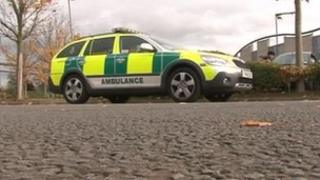 East Midlands Ambulance Service paramedic vehicle