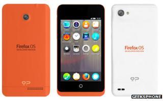 Firefox smartphones