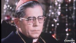 Cardinal Jozef Glemp, file photo 1990