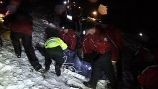 Rescue of teenager from Dartmoor
