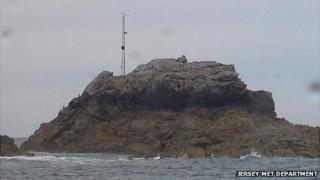 Mock up of how the mast would look on Grande Rousse