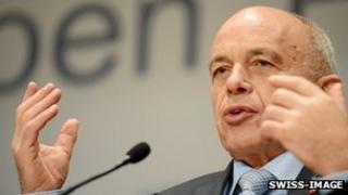 Swiss President Ueli Maurer