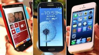 Smartphones - Lumia, Galaxy, iPhone