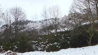 Snow in the Langdale Valley