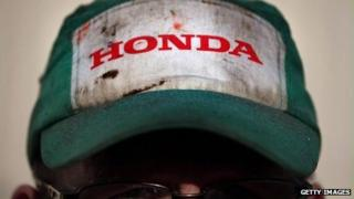 Honda worker in Swindon - file photo