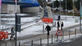 Snow in Coventry