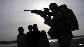British soldier in Iraq (2009)