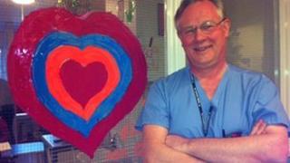 Doctor on children's heart ward