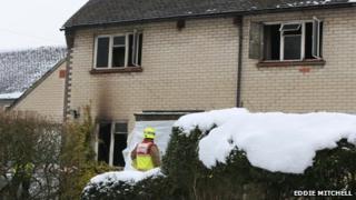 Fire in Fernhurst