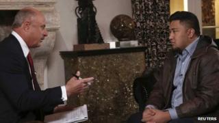 Dr Phil interviews Ronaiah Tuiasosopo