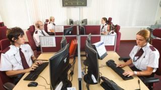 West Midlands Police 999 call centre