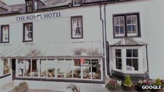 Royal Hotel in Cromarty