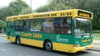 Warwickshire school bus