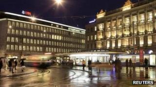 UBS offices in Zurich
