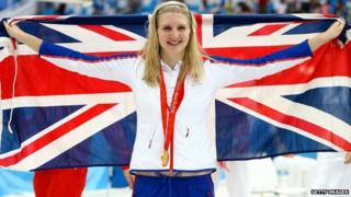 Rebecca Adlington took home two gold medals in Beijing