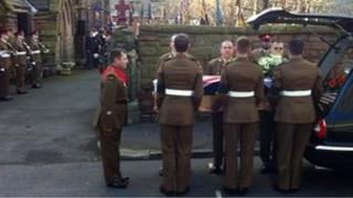 Kingsman Shaw funeral