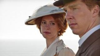 Rebecca Hall and Benedict Cumberbatch in Parade's End