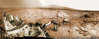 Panorama from Sol 169