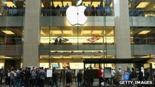 An Apple store in Australia