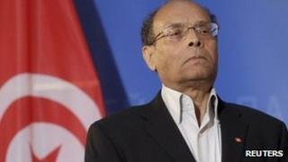 Tunisian President Moncef Marzouki, 6 February