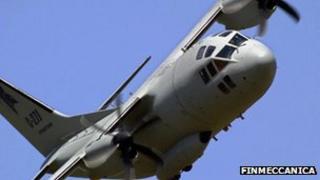 Finmeccanica aircraft