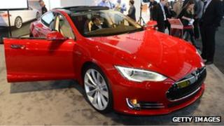 Tesla Model S saloon