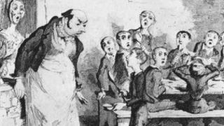 illustration from Oliver Twist