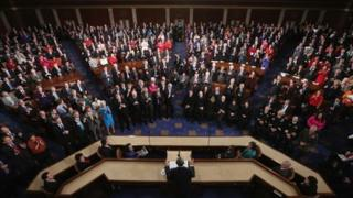 President Barack Obama delivers the State of the Union address in Washington DC 12 February 2013
