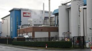 Muller Wiseman's Market Drayton plant